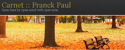 Carnet : : Franck Paul website